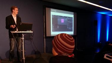 Paul Redetzky während der Präsentation des Eosis-Konzepts